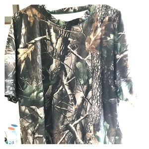 Real Tree Performance Super-dry XL hardwoods shirt